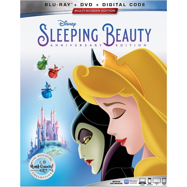 Sleeping Beauty Anniversary Edition Blu-ray Combo Pack –  Signature Collection