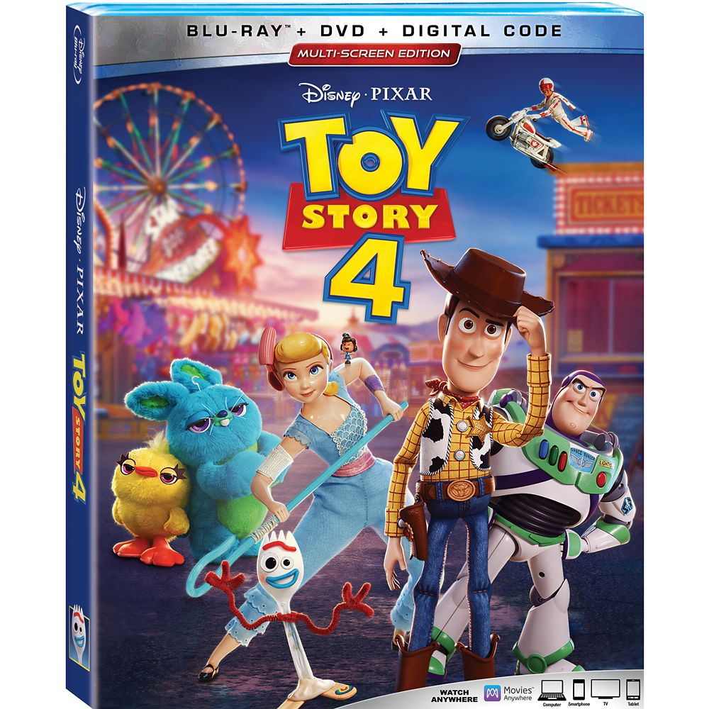 Toy Story 4 Blu-ray Combo Pack Multi-Screen Edition