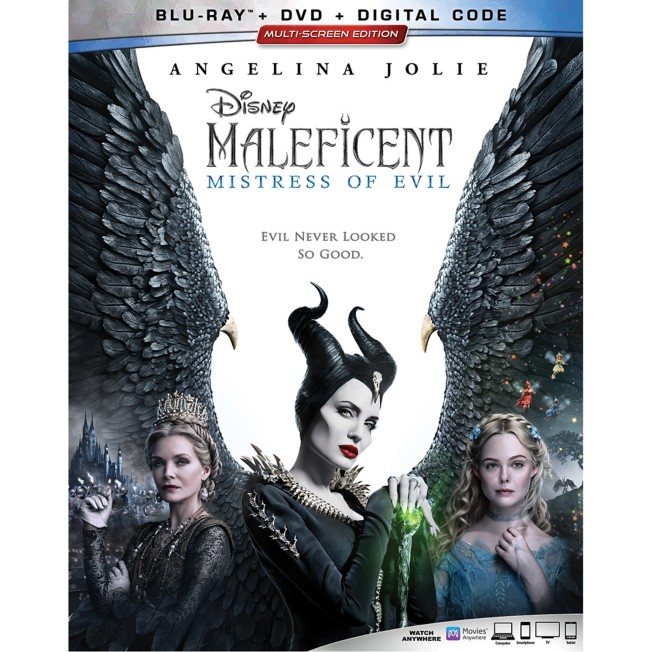Maleficent: Mistress of Evil Blu-ray Combo Pack Multi-Screen Edition