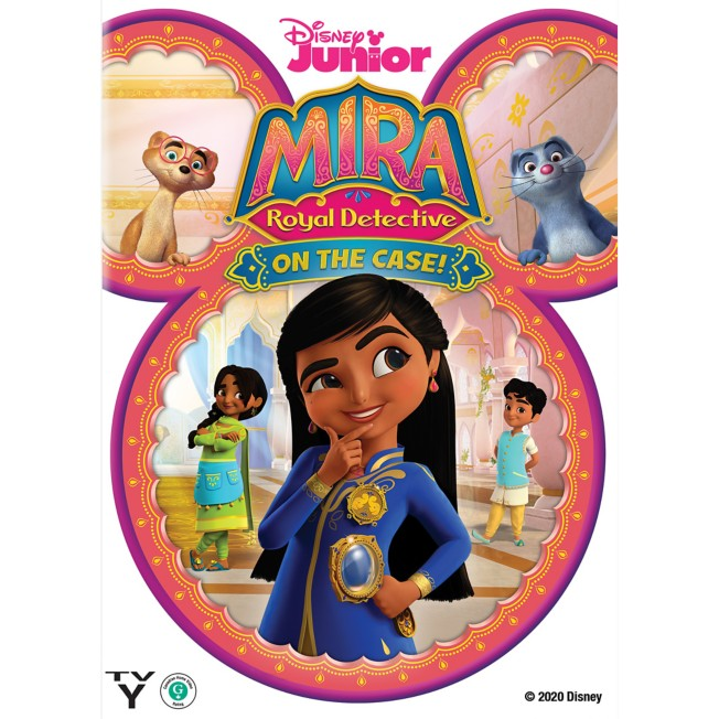 Mira, Royal Detective: On the Case! DVD