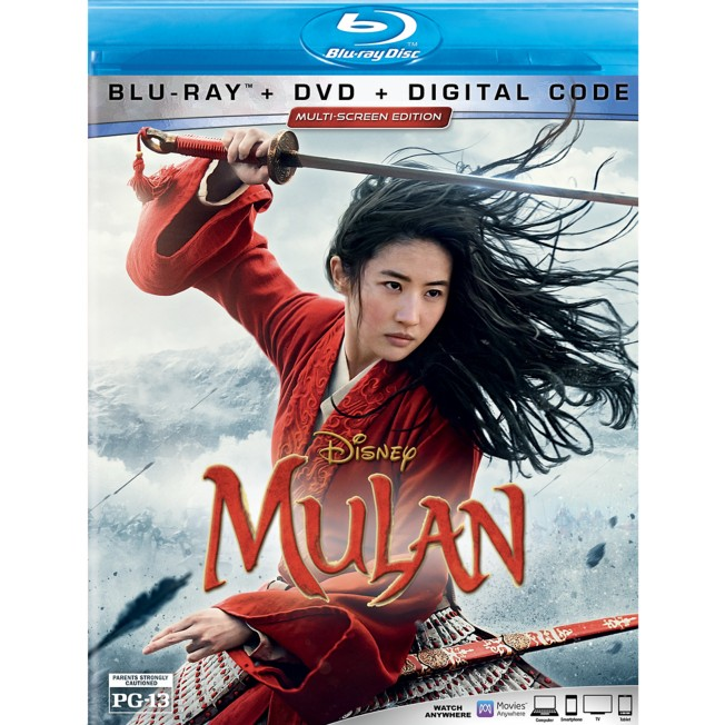 Mulan Live Action Film Blu-ray Multi-Screen Edition