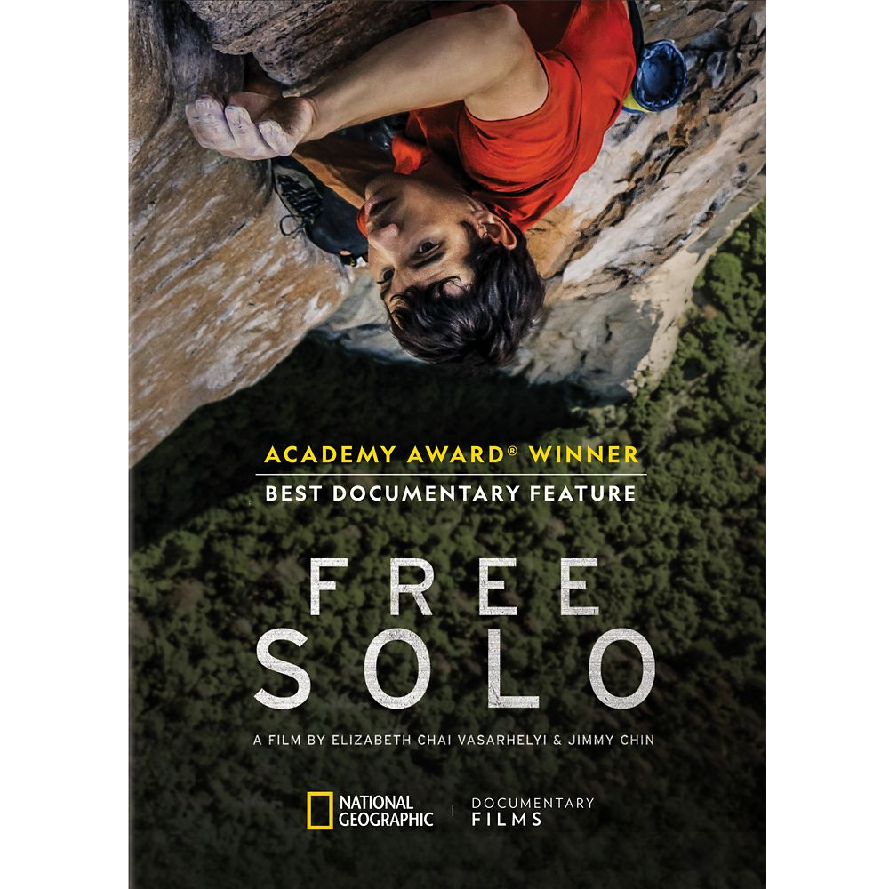 Free Solo DVD – National Geographic