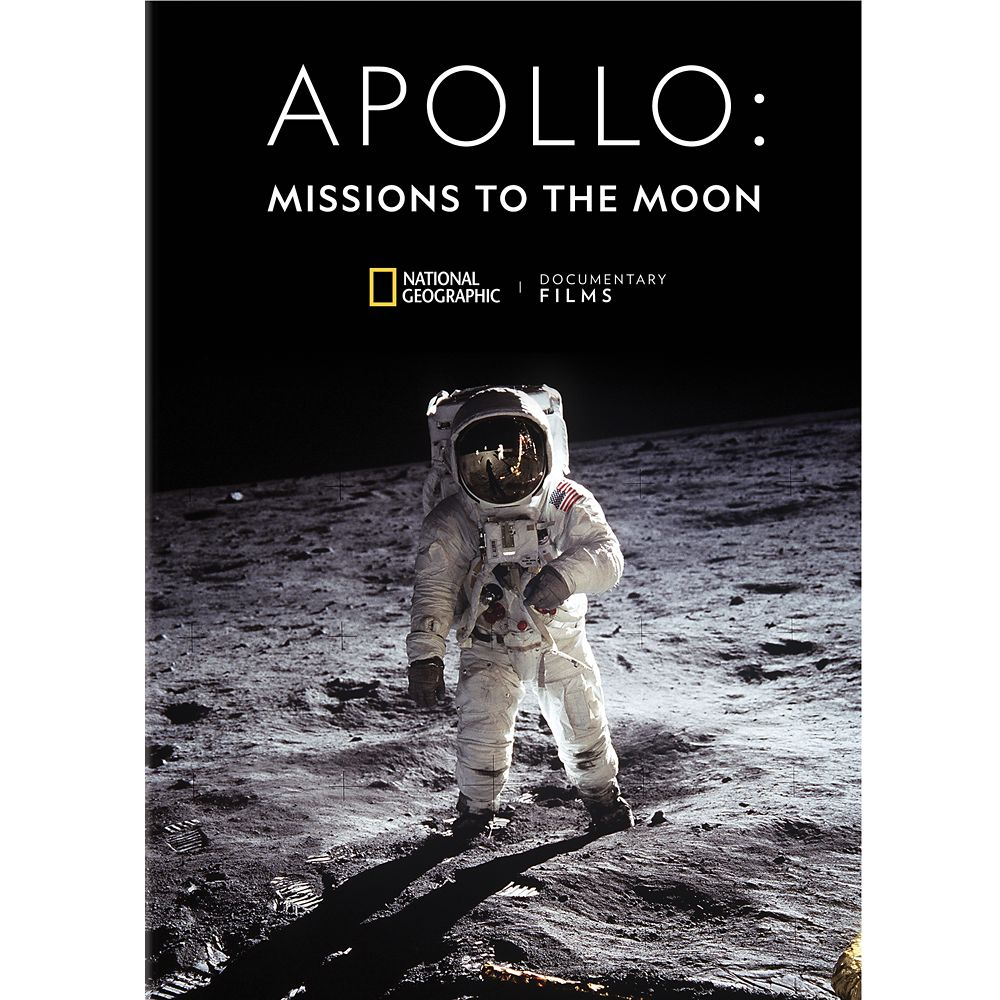 Apollo: Missions to the Moon DVD – National Geographic