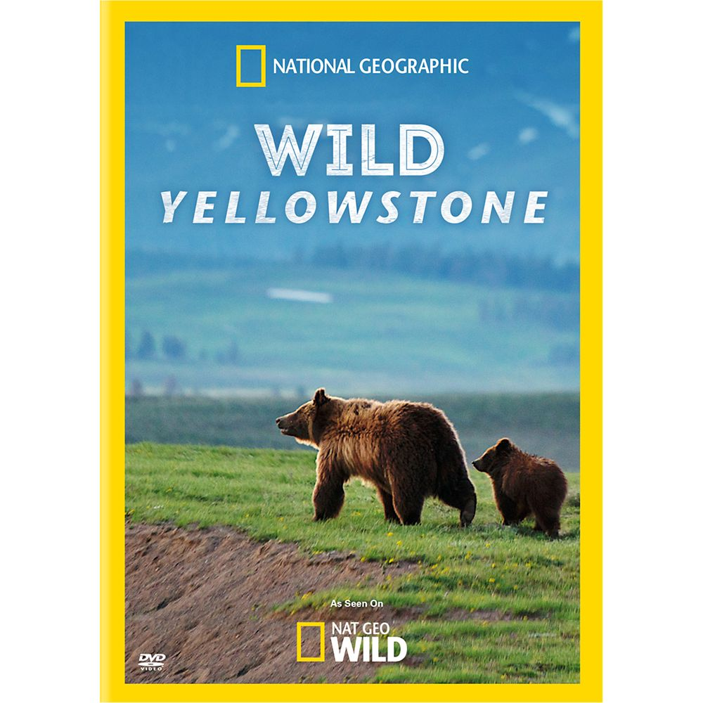 Wild Yellowstone DVD – National Geographic