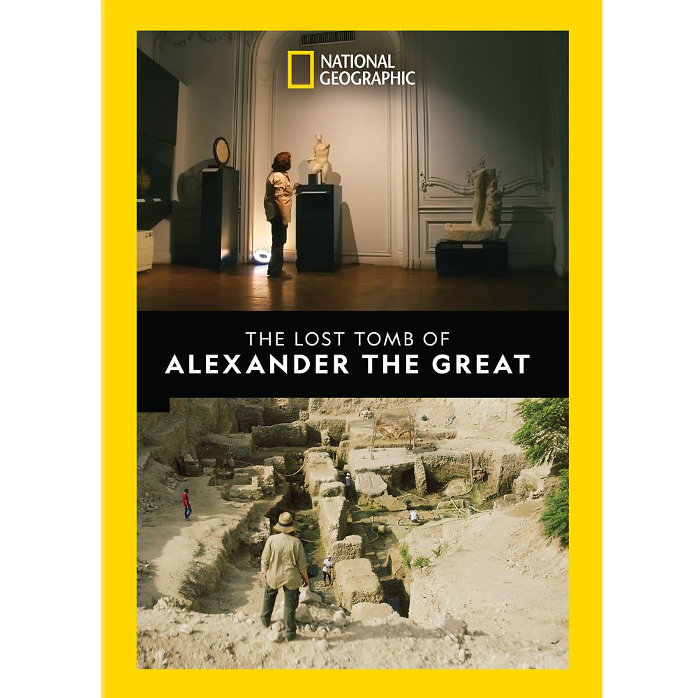 The Lost Tomb of Alexander the Great DVD – National Geographic