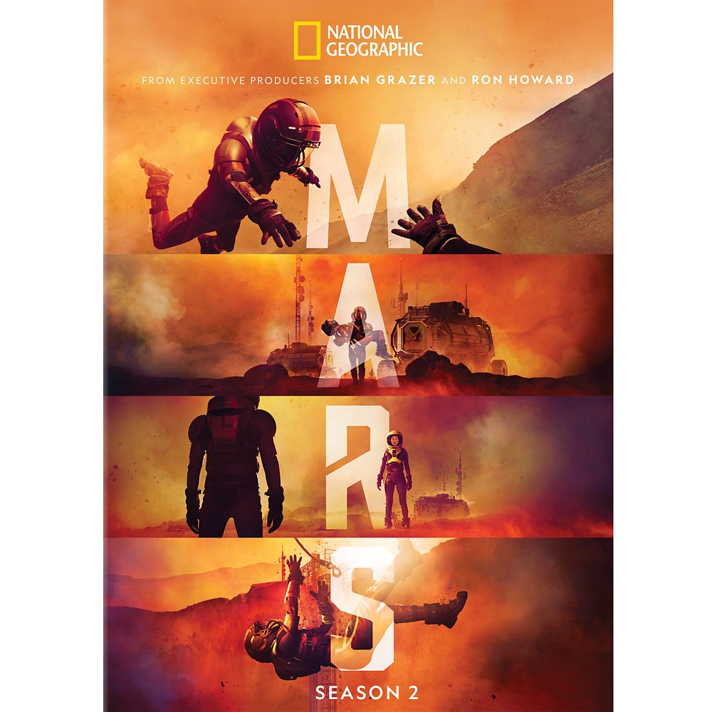 Mars Season 2 DVD – National Geographic