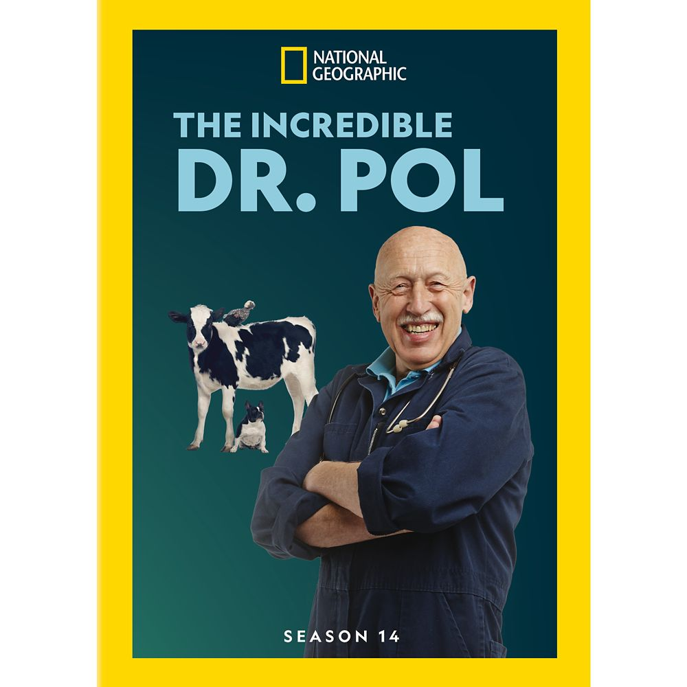 The Incredible Dr. Pol Season 14 DVD – National Geographic