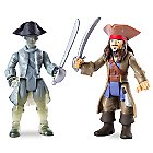 Jack Sparrow vs. Ghost Crewman Action Figure Set - Pirates of the Caribbean