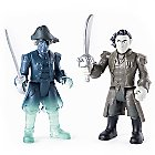 Captain Salazar and Ghost Crewman Action Figure Set - Pirates of the Caribbean