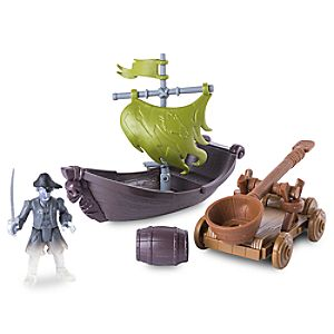 Pirates of the Caribbean: Dead Men Tell No Tales - Ghost Pirate Hunter Action Figure Play Set 778988607534P