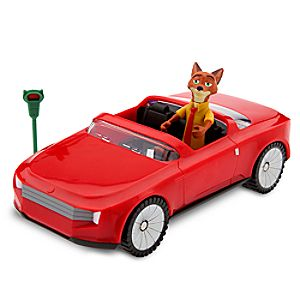 Nick Wilde's Convertible Vehicle Play Set - Zootopia