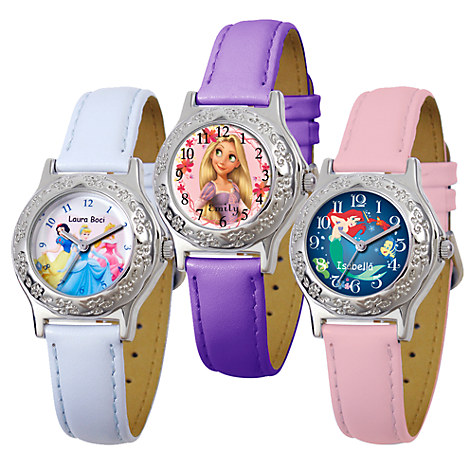 Royal watch for kids customizable disney store for Watches for kids