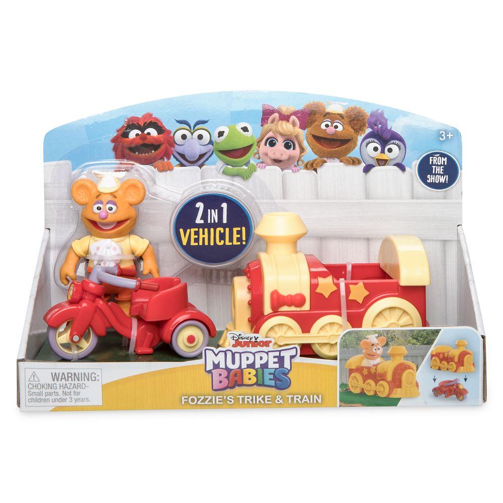 Fozzie Trike & Train – Muppet Babies