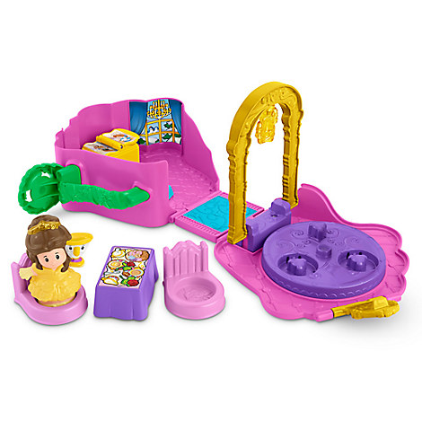 Belle's Fold 'n Go Rose Play Set by Fisher-Price