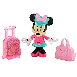 Disney Store Pilot Minnie Mouse Action Figure  -  Minnie's Happy Helpers