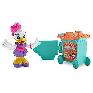 Disney Store Flight Attendant Daisy Duck Action Figure  -  Minnie's