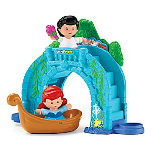 Ariel and Eric's Boat Ride Playset by Little People 887961552751P