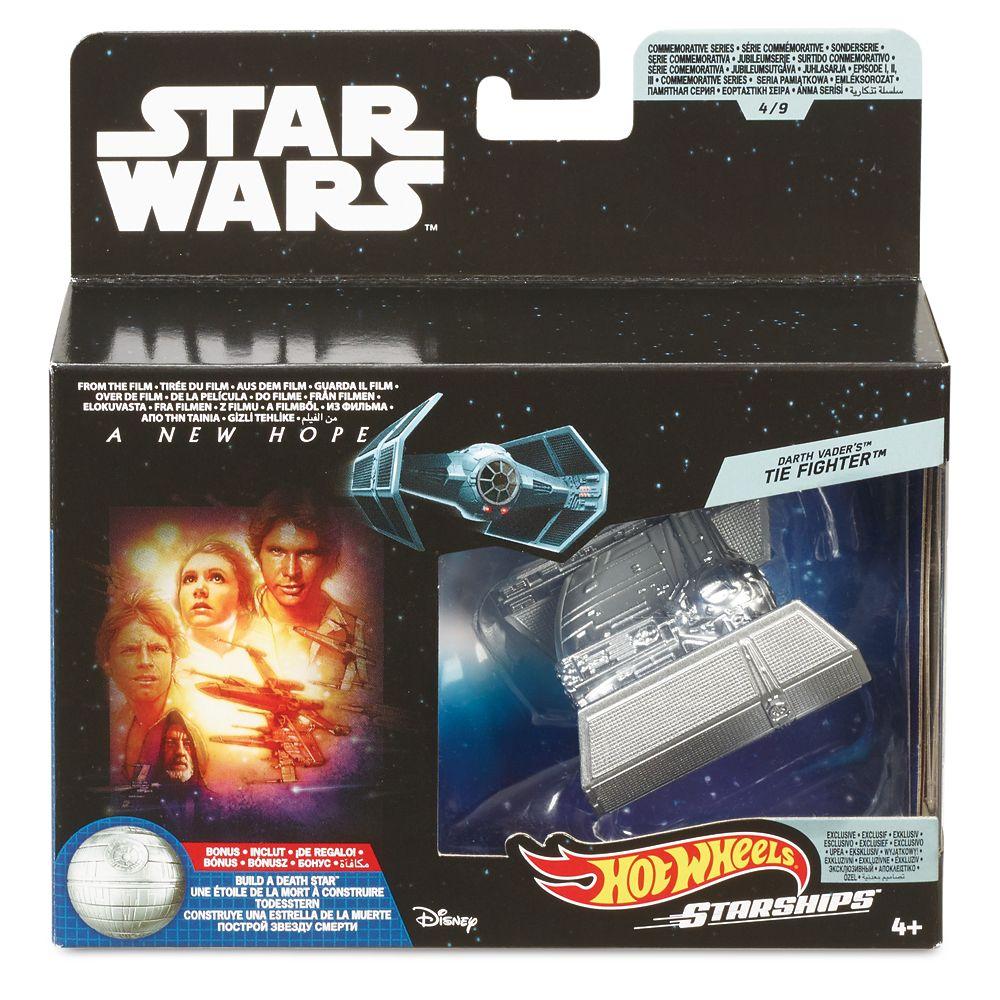 Darth Vader's TIE Fighter Hot Wheels Die Cast Ship by Mattel – Star Wars