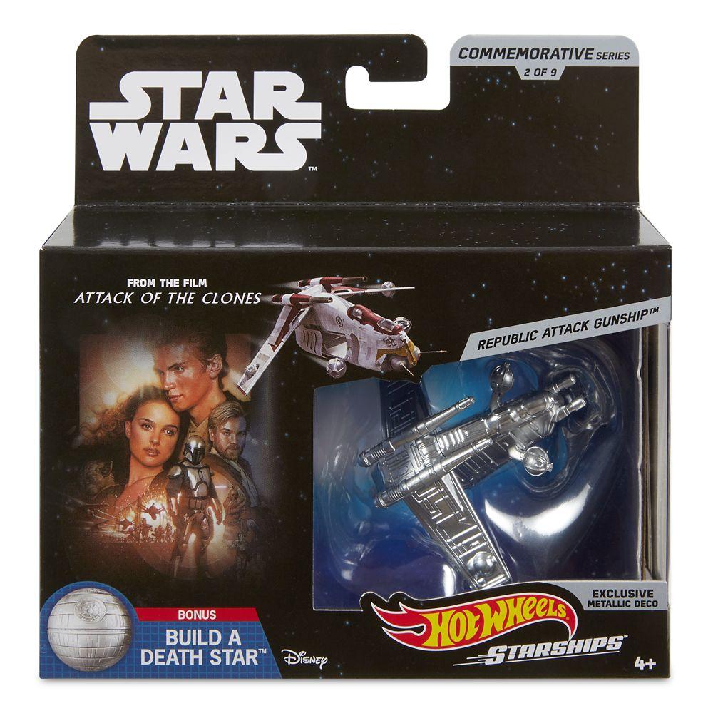 Republic Attack Gunship Hot Wheels Die Cast Ship by Mattel – Star Wars