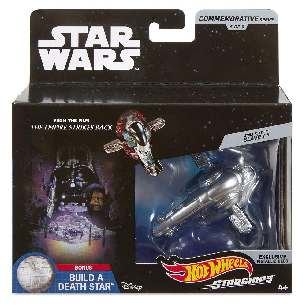 Boba Fett's Slave I Hot Wheels Die Cast Ship by Mattel – Star Wars