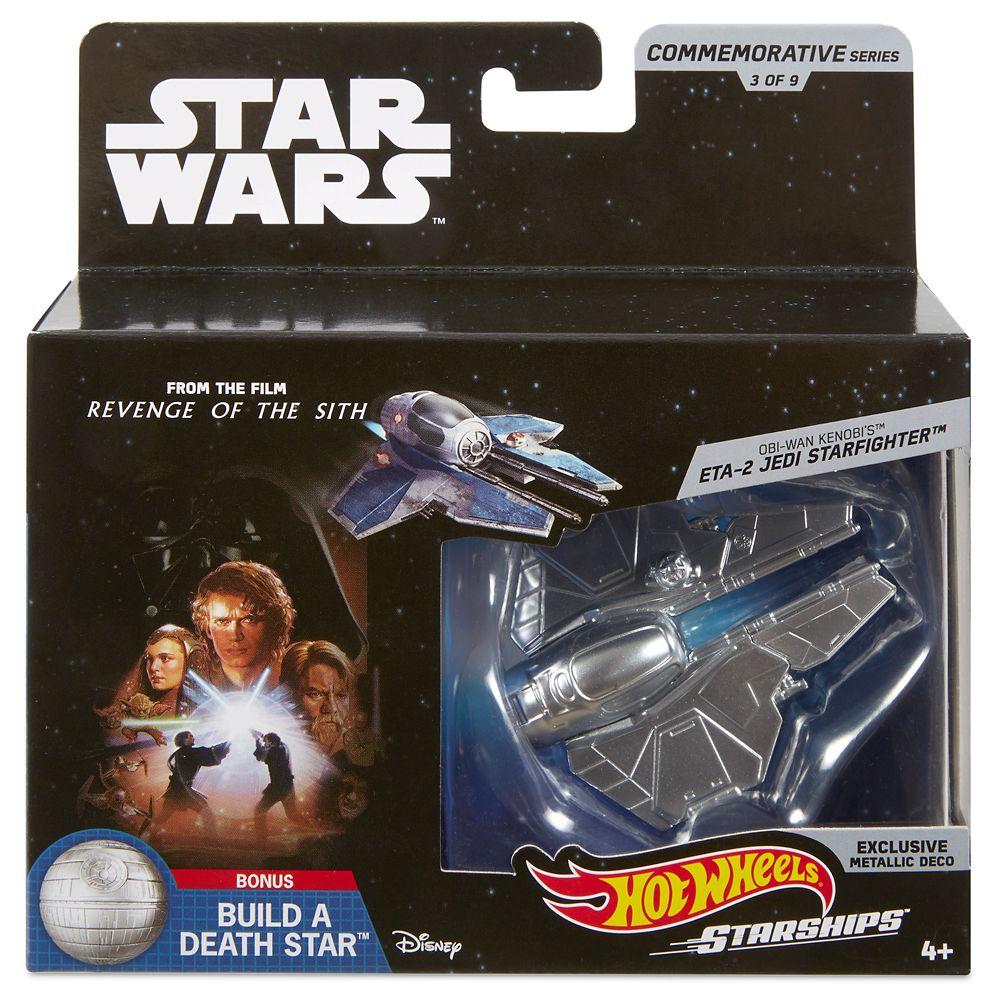 ETA-2 Jedi Starfighter Hot Wheels Die Cast Ship by Mattel – Star Wars