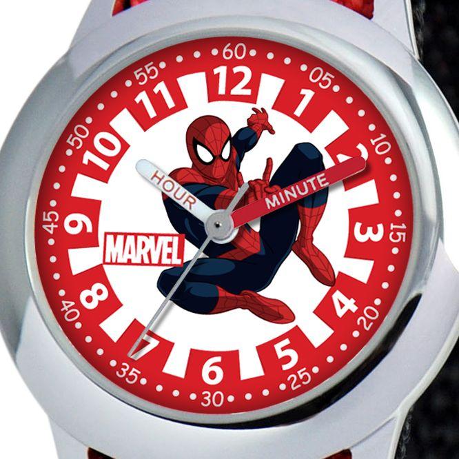 Spider-Man Time Teacher Watch for Kids