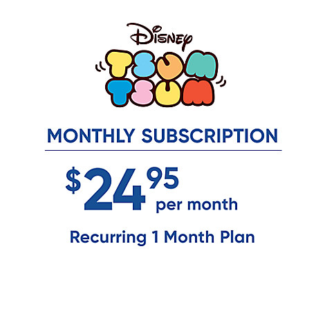 ''Tsum Tsum'' Monthly Subscription