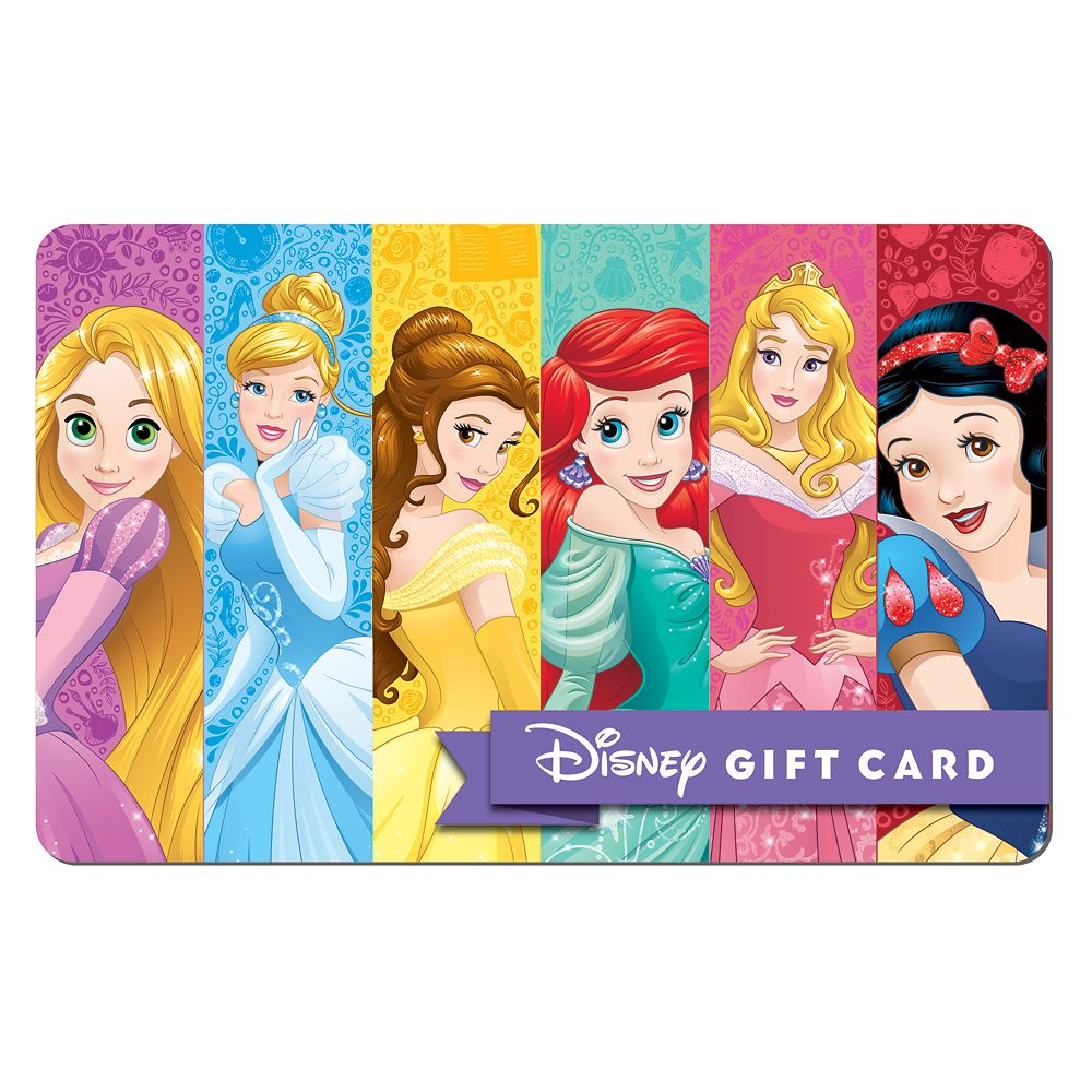 Princess Perfect Disney Gift Card