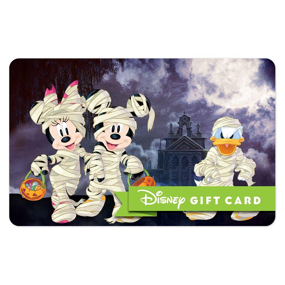 Happy Haunts Halloween Disney Gift Card