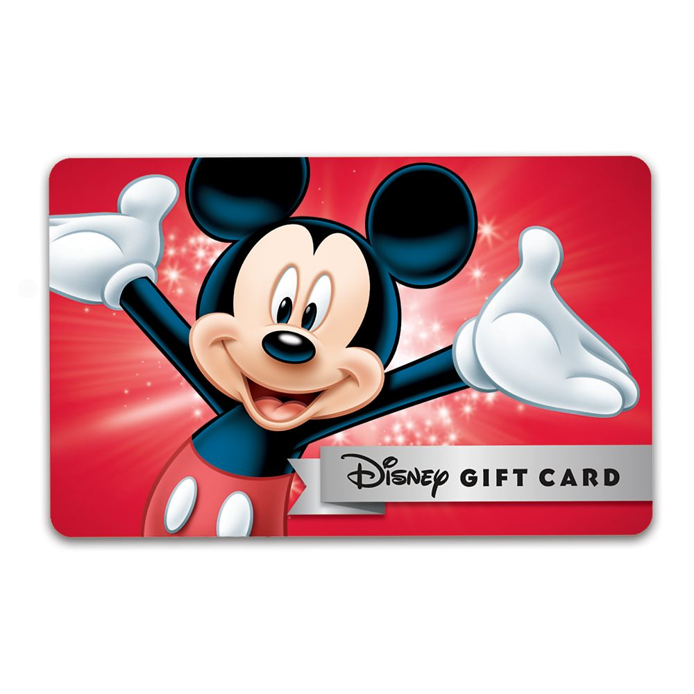 TaDa Mickey Mouse Disney Gift Card