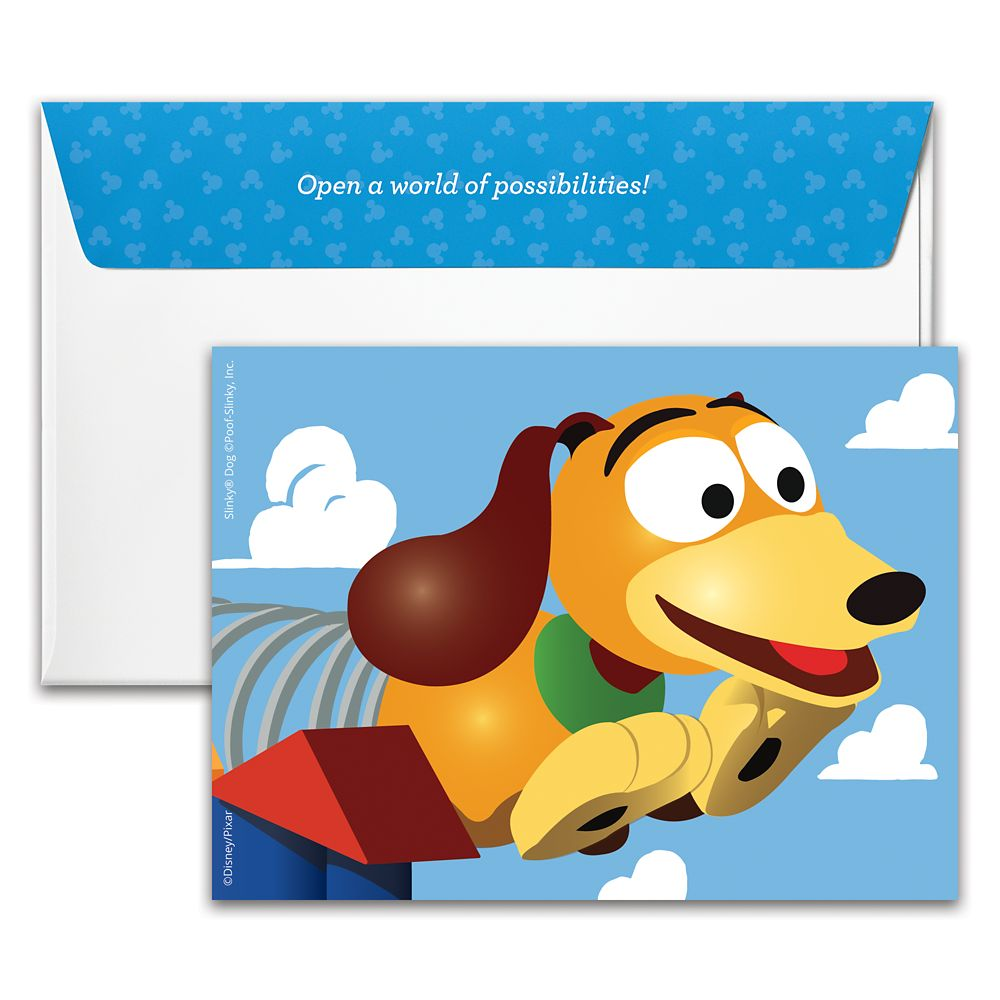 Slinky Dog Disney Gift Card – Toy Story