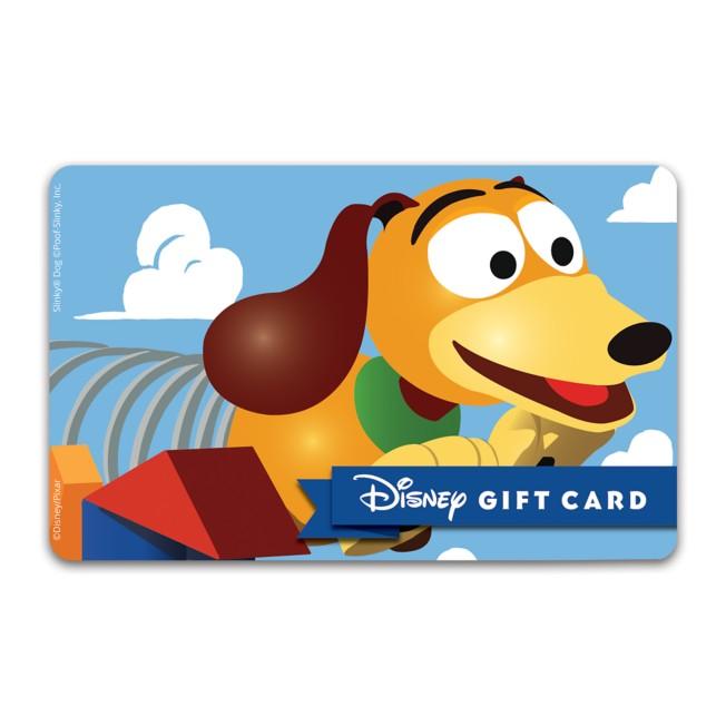 Slinky Dog Disney Gift Card – Toy Story