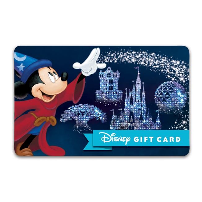 Sorcerer Mickey Mouse Disney Gift Card – Walt Disney World