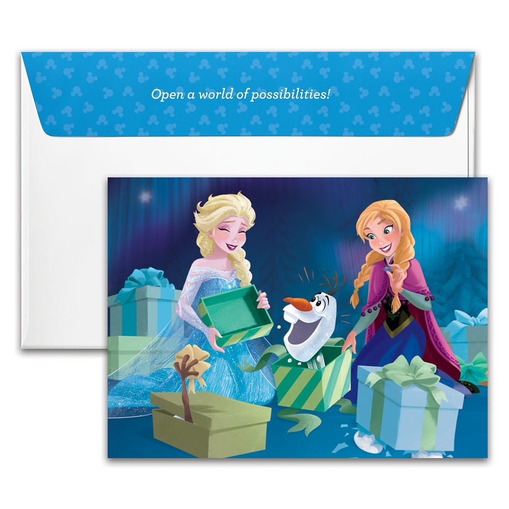 Frozen Warm Hugs Disney Gift Card