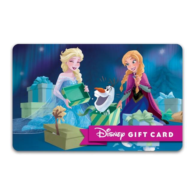 Frozen Warm Hugs Disney Gift Card