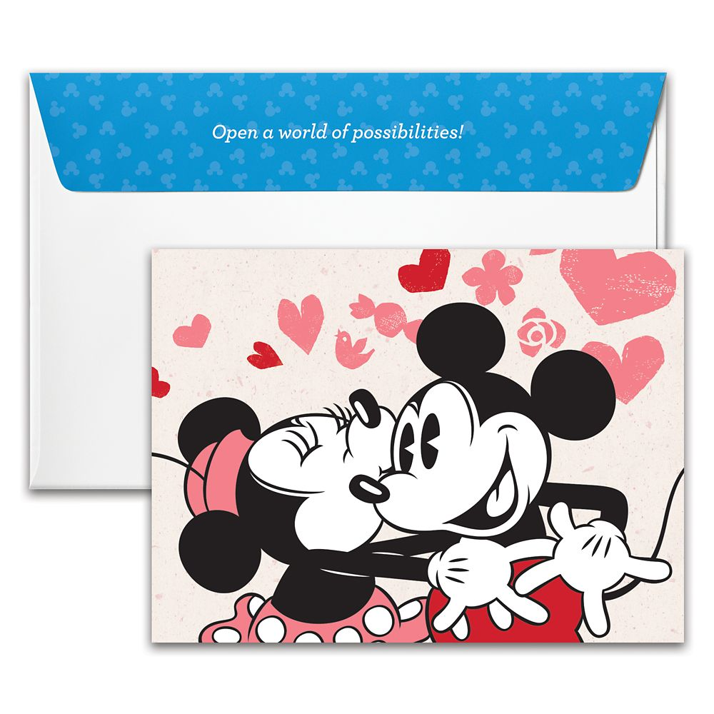 Mickey and Minnie Mouse Disney Gift Card