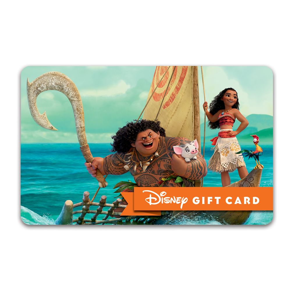 Moana Disney Gift Card