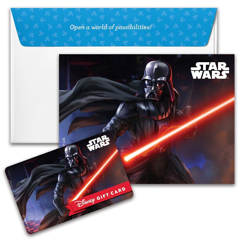 Darth Vader Disney Gift Card – Star Wars