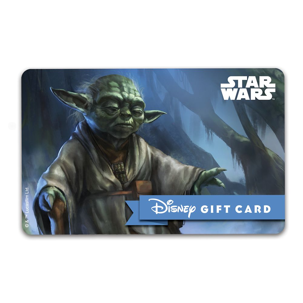 Yoda Disney Gift Card – Star Wars