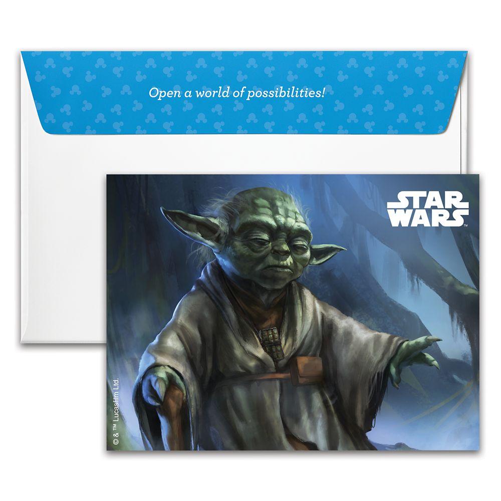 Yoda Disney Gift Card – Star Wars