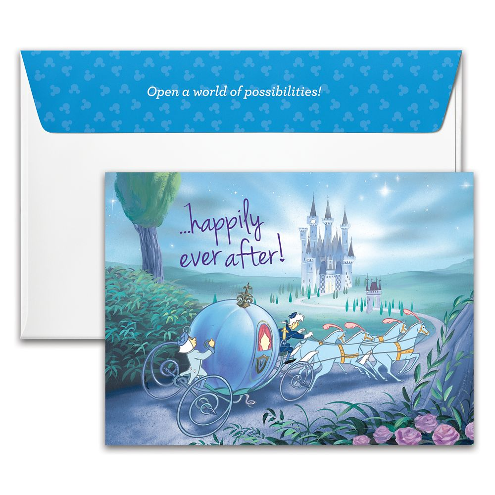 Cinderella ''Happily Ever After'' Wedding Disney Gift Card