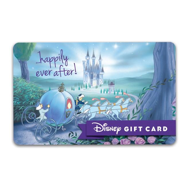 Cinderella ''Happily Ever After'' Wedding Disney Gift Card