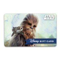 Chewbacca and Porg Disney Gift Card – Star Wars