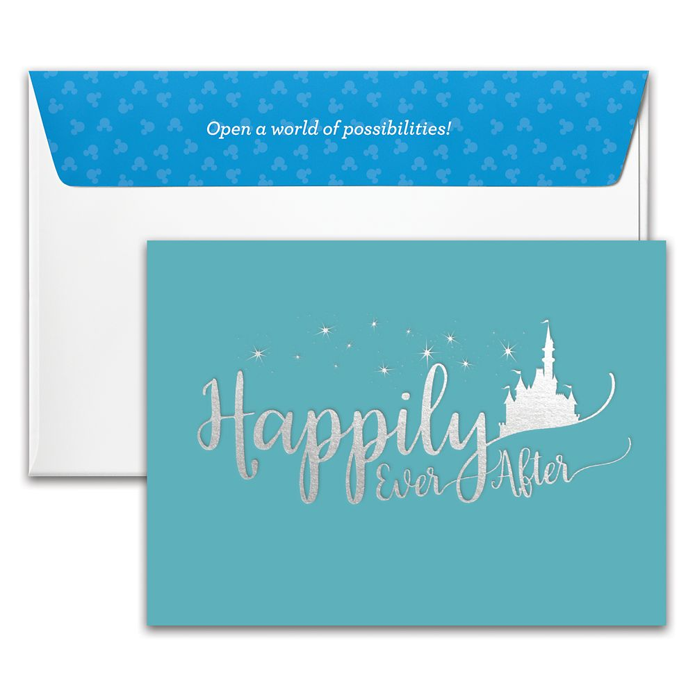 ''Happily Ever After'' Wedding Disney Gift Card