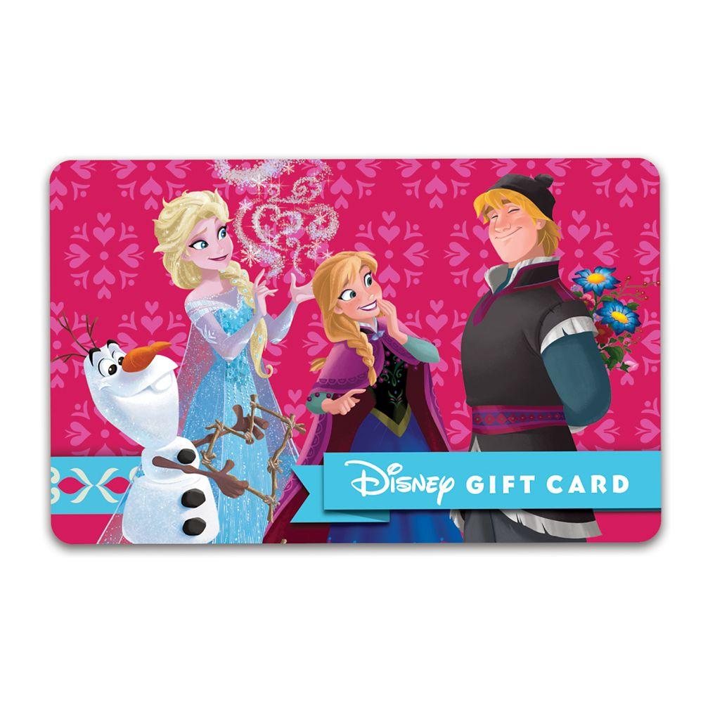 Frozen Love Disney Gift Card