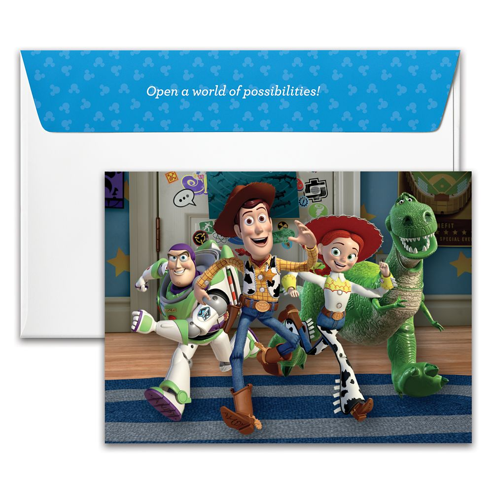 Toy Story Disney Gift Card