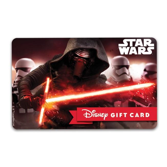 Kylo Ren Disney Gift Card – Star Wars