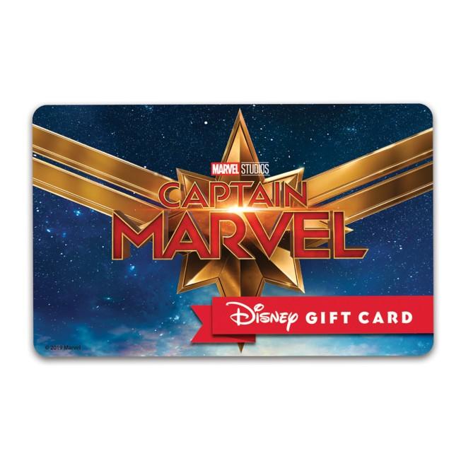 Marvel's Captain Marvel Disney Gift Card