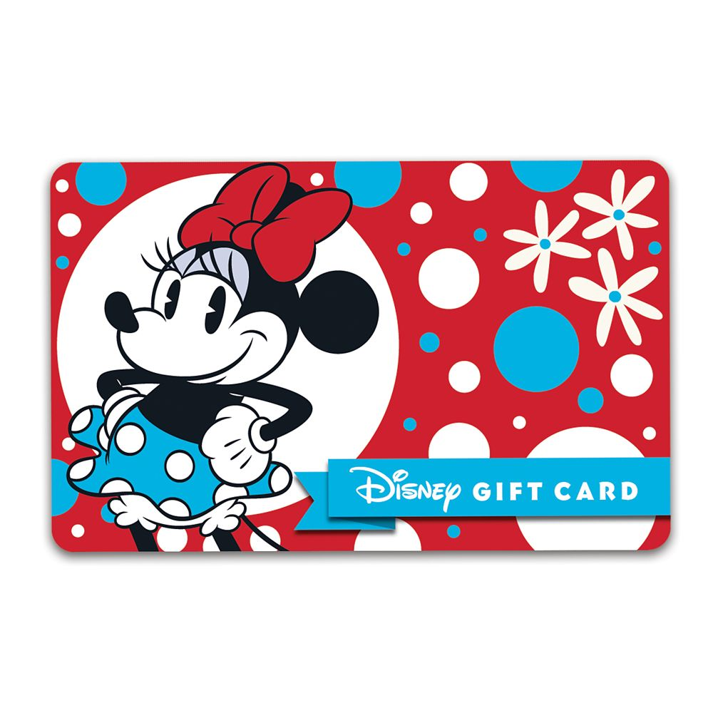 Minnie Mouse Disney Gift Card