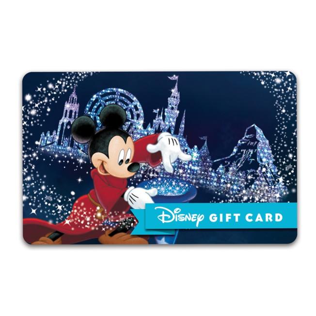 Sorcerer Mickey Mouse Disney Gift Card – Disneyland